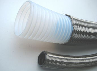 Boiler and heat pump hose